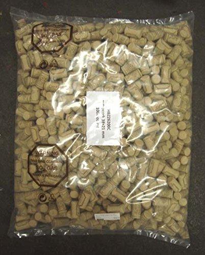Micro Cork- #7 X 1 1/2 1000ct by Grape and Granary (Image #1)