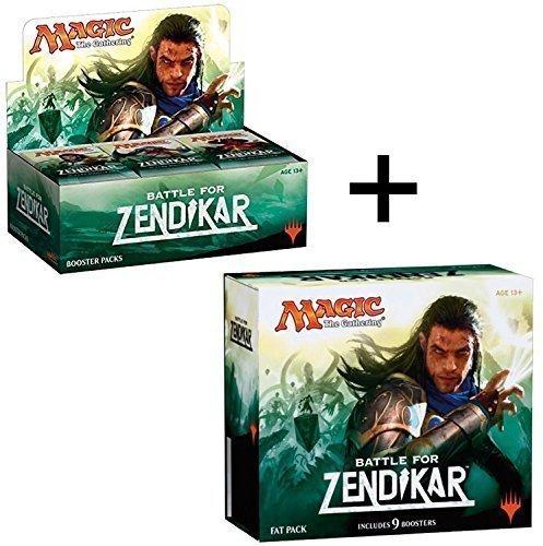 Booster Box + Fat Pack COMBO! Battle For Zendikar - BFZ MTG Magic the Gathering
