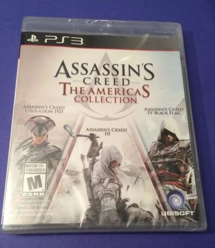 Assassin's Creed: The Americas Collection PlayStation 3 PS3 NEW