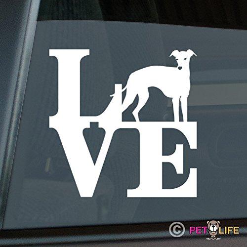 Love Italian Greyhound Sticker Vinyl Auto Window Sticker park