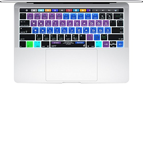 Serato Keyboard Shortcuts - Masino Silicone Keyboard Cover Ultra Thin Protective Skin for Newest MacBook Pro 13