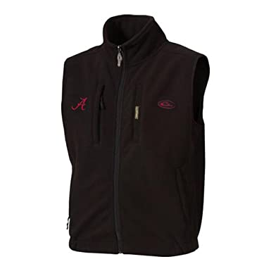 University of Alabama Windproof Fleece Vest
