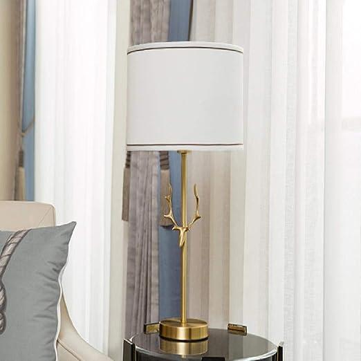 ZZFGH Lámpara de Mesa práctica Mesa de Noche decoración hogar ...