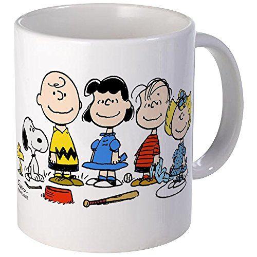 CafePress - The Peanuts Gang Mug - Unique Coffee Mug, Coffee Cup]()