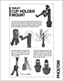 Cup Holder Tablet Mount, Tablet Car Cradle Holder