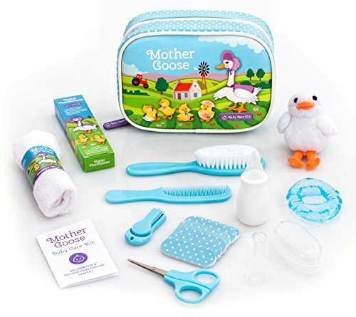 ing Kit | Essential Baby Care Accessories for Travelling & Home Use | with Manicure Set, Thermometer & Finger Puppet Toy | Ideal for Newborn, Infant, Toddler Girls & Boys | 17 Pcs ()