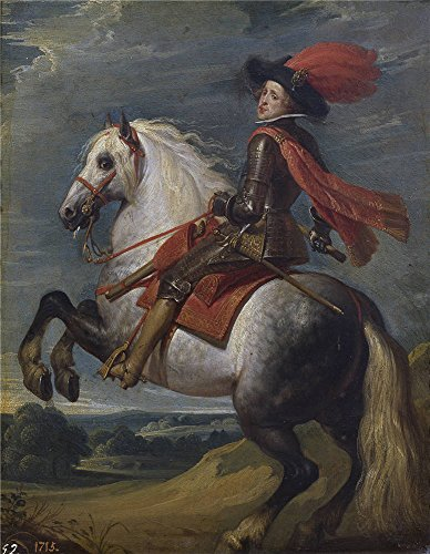 Oil Painting 'Crayer Gaspar De Felipe IV A Caballo 1628 32 ' Printing On Polyster Canvas , 30 X 39 Inch / 76 X 98 Cm ,the Best Home Office ()