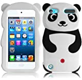 jelly ipod 5 case - For Apple Ipod Touch 5 5th Generation Panda Silicone Jelly Skin Cover Case Black Accessory