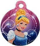 Platinum Pets Disney 1.5-Inch Smartphone Pet ID Tag with GPS, Cinderella Design, My Pet Supplies