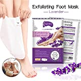 Exfoliating Foot Mask 2 Pack,Exfoliating Callus Remover,Soft Touch Foot Peel Mask Make Your Feet Baby Soft