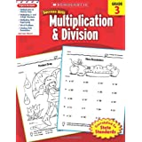 Scholastic Success with Multiplication and Division: Grade 3