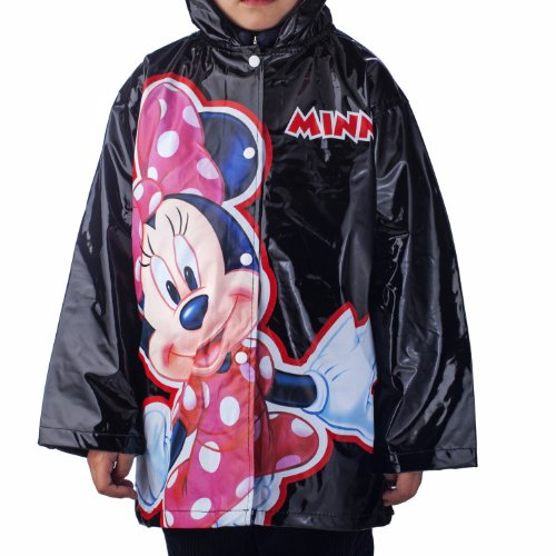 Disney Minnie Mouse Bowtique Girl's Rain Coat- Size Small 6/7 (Minnie Mouse Rain Boots For Girls compare prices)