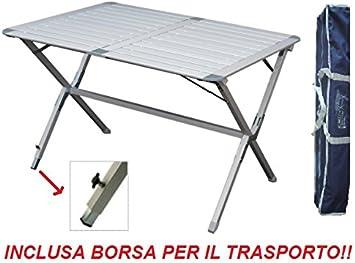 Beaver Mesa Estor Argo 110 x 70 x 72h cm de Aluminio con Piano ...