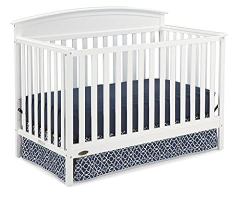 Graco Benton Convertible Crib, White (Graco Crib Benton)
