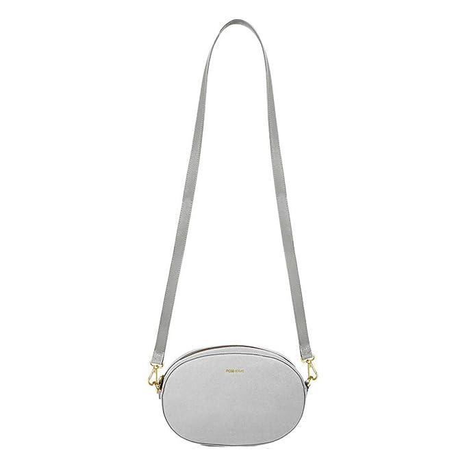 codice promozionale 57a4d 50ed6 Pomikaki Kasia donna, borsa a tracolla, argento, One size EU ...