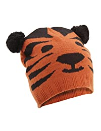 Floso Childrens/Kids Unisex Animal Design Winter Beanie Hat (Tiger, Panda, Bear, Dog)