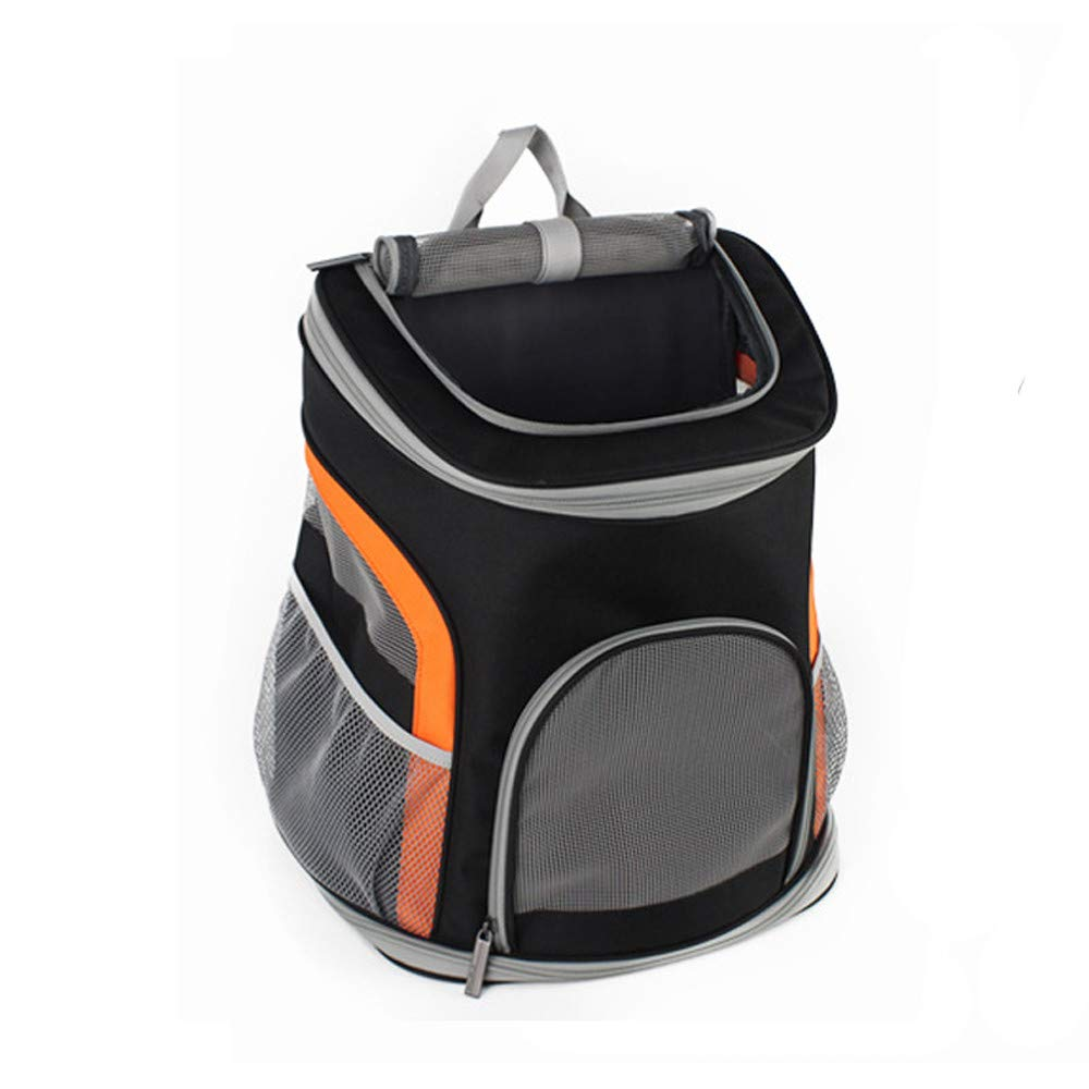 LXFGB Premium Pet Carrier Backpack For Small Cats And Dogs   Ventilated Design, Safety Strap, Buckle Support   Designed For Travel, Hiking & Outdoor Use