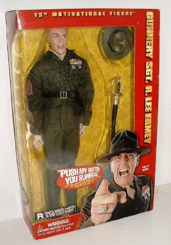 - Gunnery Sgt. R. Lee Ermey Full Metal Jacket Figure