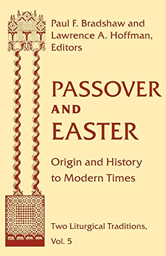 Passover Easter: Origin & History To Modern Times (ND Two Liturgical Traditions)