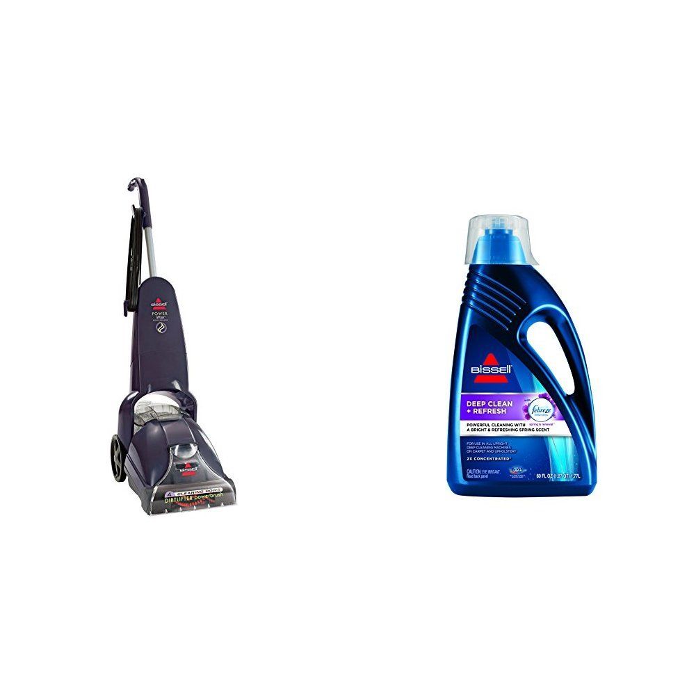 Deep Clean & Freshen Bundle - PowerLifter PowerBrush +  DeepClean + Refresh with Febreze Formula, 60 oz by Bissell