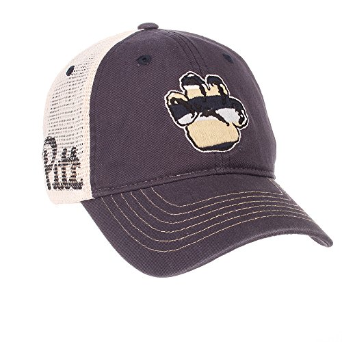 (Elite Fan Shop Pittsburgh Panthers Trucker Hat - Adjustable - Navy)