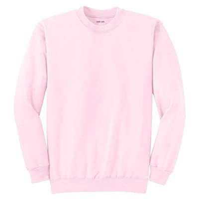 Adult Soft and Cozy Crewneck Sweatshirts in 28 Colors in Sizes S-4XL at Men's Clothing store