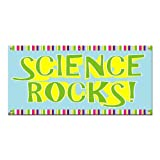 Science Rocks - Classroom School Teachers Sign 4'x2' Banner