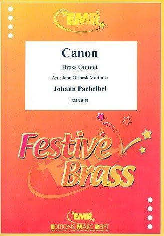 Kanon: Per Soffiatori Quintett Partitura In C E 12Voci