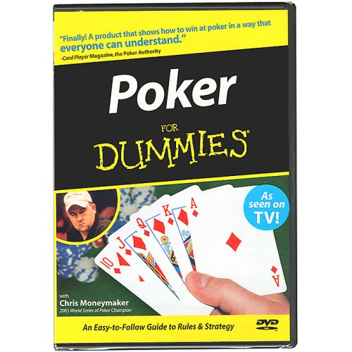 (Trademark Poker for Dummies DVD with Chris Moneymaker Instructional)