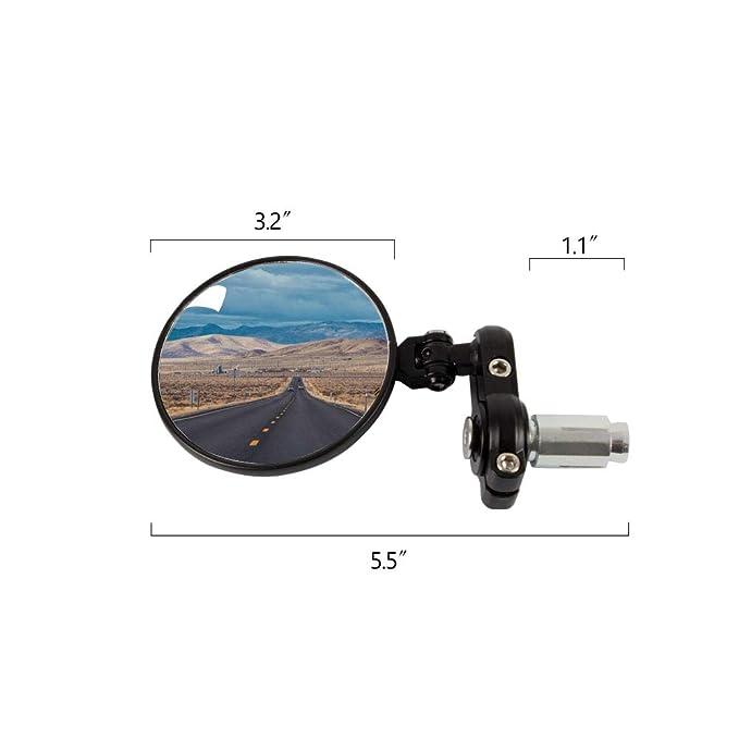 Universal CNC Motocicleta Plegable 7/8