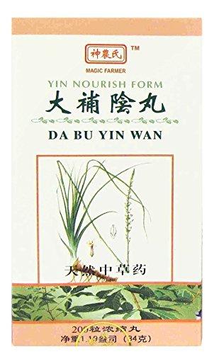 (Yin Nourish Form - Da Bu Yin Wan 200)