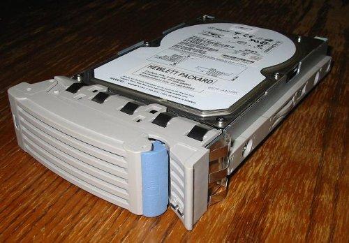 (HP P4621-60000 HP 73.4GB hot-swap Ultra3 SCSI hard drive - 10,000 RPM, low prof (P462160000) )