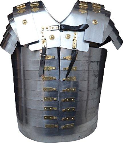 Lorica Strap - Medieval XL Size Roman Lorica Segmentata Armour with Leather Strap Segmenta ABS