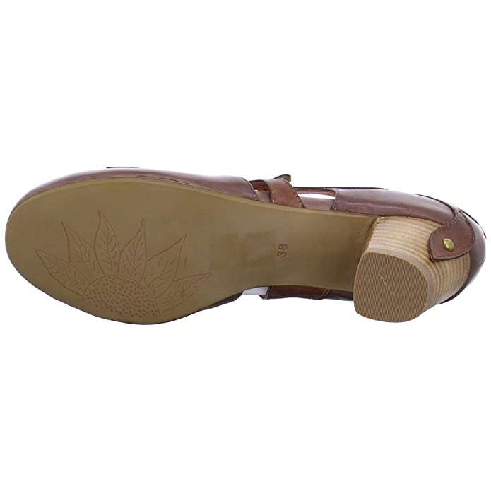 98b7b9c16d9d Everybody Riemchen-Pumps Größe 38 Braun (Braun)  Amazon.de  Schuhe    Handtaschen