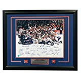 1993 Montreal Canadiens 20 Player Team Signed Stanley Cup Champions 31x25 Frame