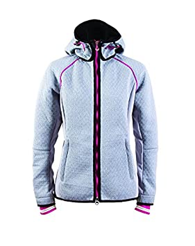 Dale of Norway - Chaqueta Softshell para Mujer Norefjell, Tejido Impermeable, Color metálico/