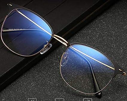 RROWER Azul de Bloqueo de la luz Gafas de Ordenador, Tableta de Lectura/Juegos