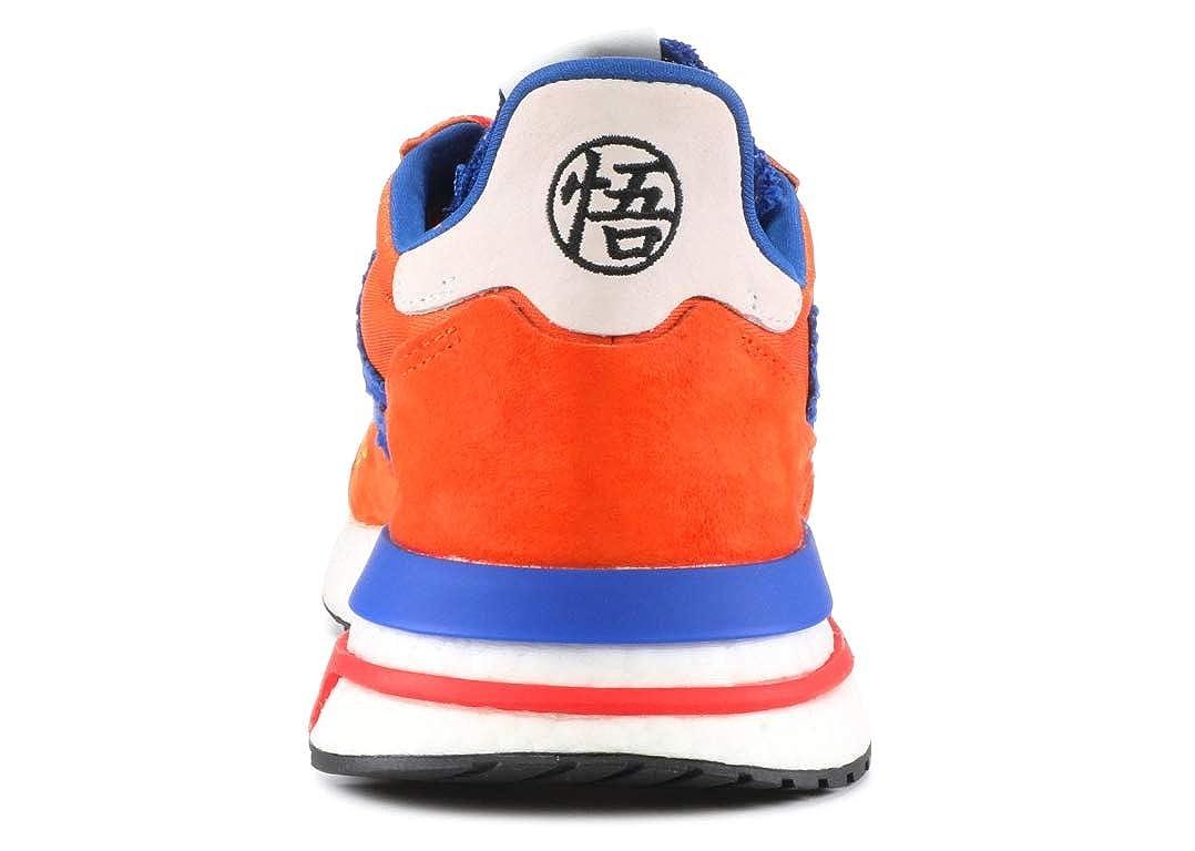 b7f7e4e9cf96 Amazon.com  adidas ZX 500 Restomod Dragon Ball Z Son Goku D97046 Orange   Shoes