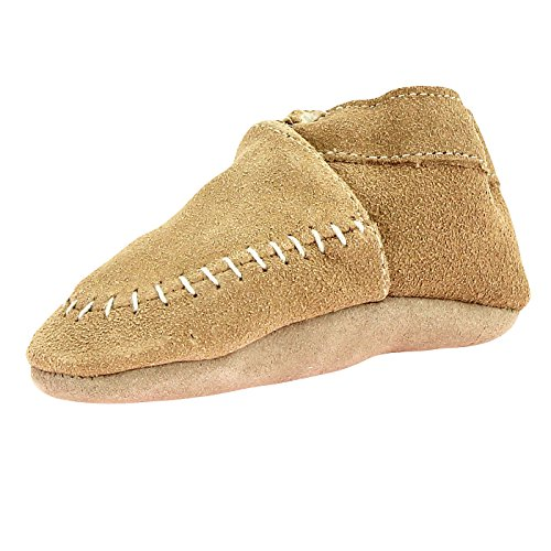 Baby Soft Leather Pram Shoes - 6