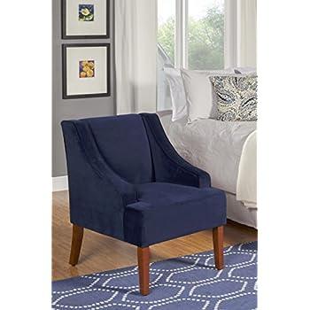 Amazon Com Skyline Furniture Swoop Arm Chair In Velvet