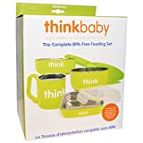 Think, Thinkbaby, The Complete BPA-Free Feeding Set, Light Green, 1 Set - 2pc