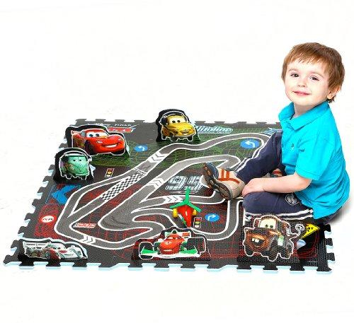 Tapis Puzzle Disney Cars