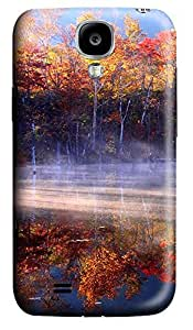Samsung S4 Case Autumn Lake Woods 3D Custom Samsung S4 Case Cover