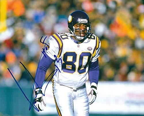 Autographed Cris Carter Minnesota Vikings 8x10 Photo (Cris Photograph Carter)