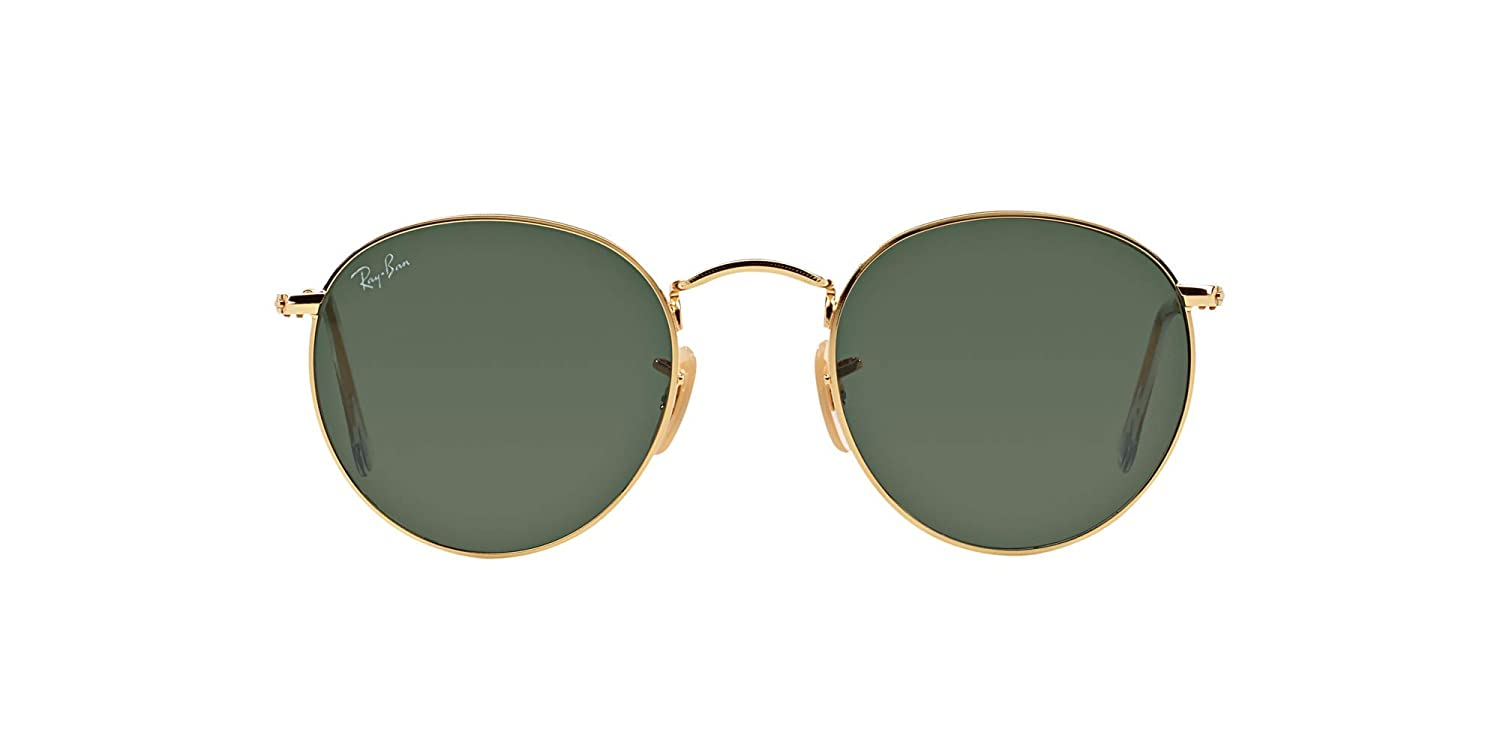 Ray-Ban RB3447 Round Metal Sunglasses For Men and Women With Luxury Bundle Kit - Ray-Ban RB 3447
