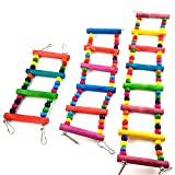 Mrli Pet Ladder Bird Toys for Bird Parrot Macaw