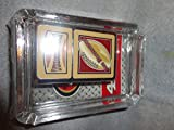 San Francisco 49ers Football Oil Lighter and Ashtray Gift Set Football