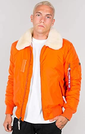 Alpha Industries Hombre Chaqueta Injector III naranja naranja extra-large: Amazon.es: Coche y moto