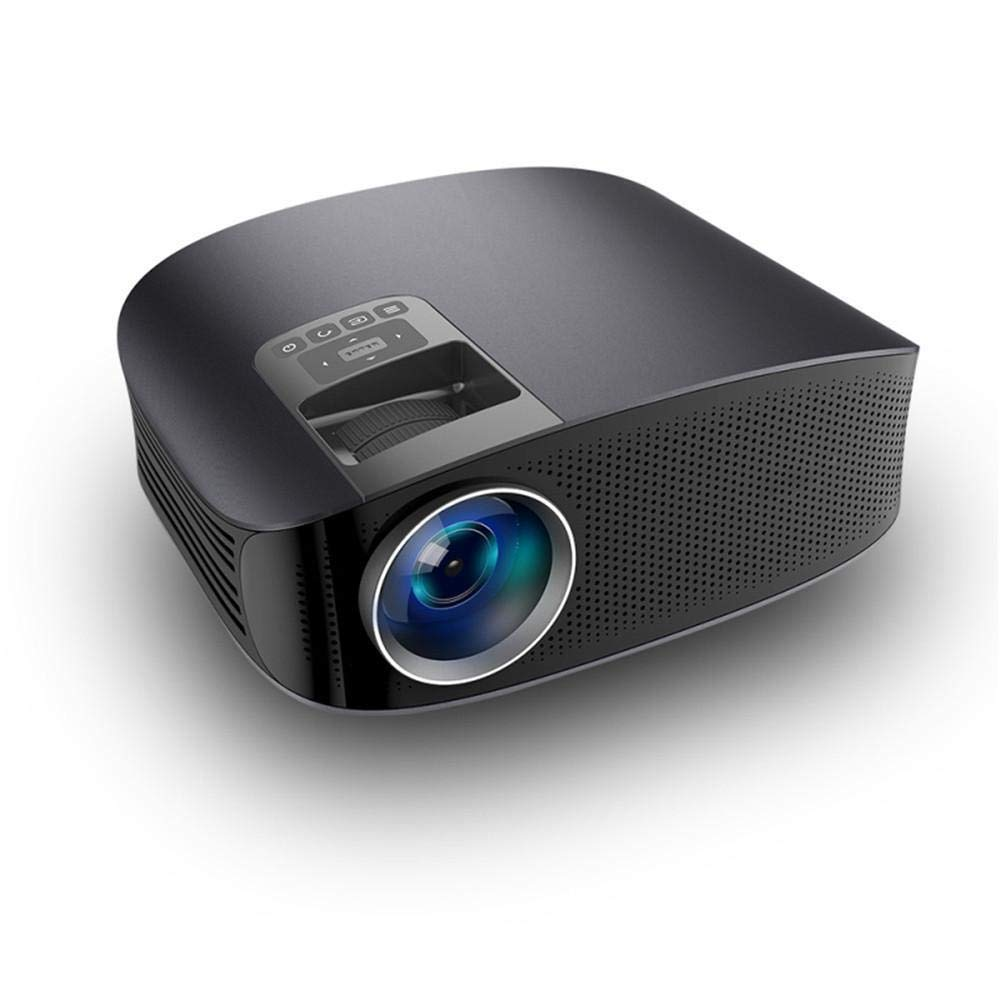 LWTOP Home Mini Projector,1080P Portable Phone Direct Connection Screening Projector Multimedia Theater Movie Projector