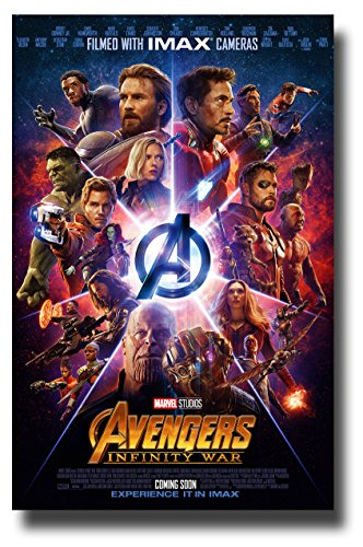 Avengers Infinity War Poster Movie Promo 11 x 17 inches Imax